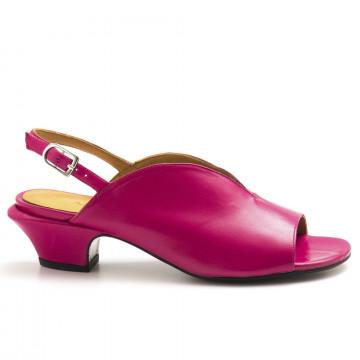 Nouveau. sandali donna audley 20990nappa magenta 4494 171dd6dce3b