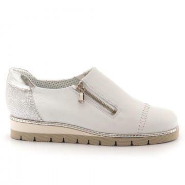sneakers donna alfredo giantin 6287pony bianco 4523