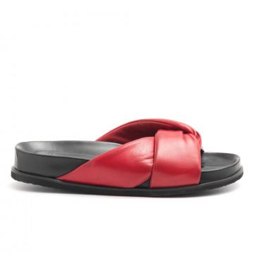sandali donna lorenzo masiero b4125659 kb np rosso 4534