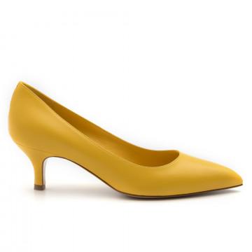 decollet donna white d d1kid giallo 4637