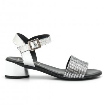 sandali donna jemi 303lam argento 4691