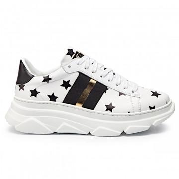 sneakers donna stokton 650 dstelle bianco nero 4692