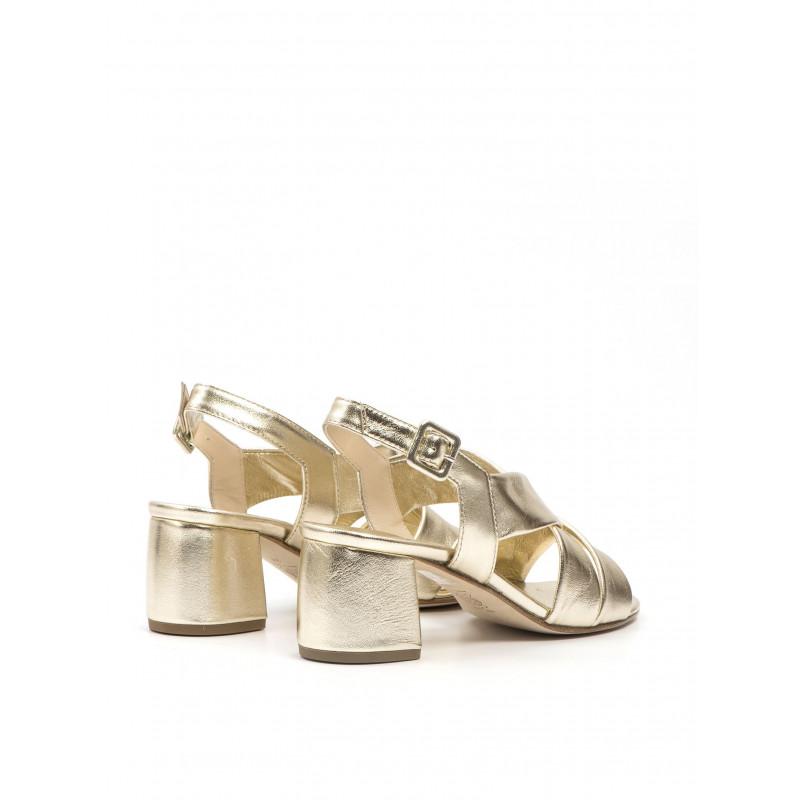 sandali donna sara 404nappa platino 601