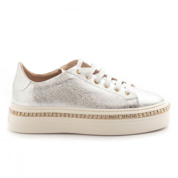 sneakers donna stokton 674 dcratere argento 4804