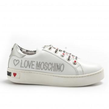 sneakers donna love moschino ja15243g17ia0100 bianco 4227