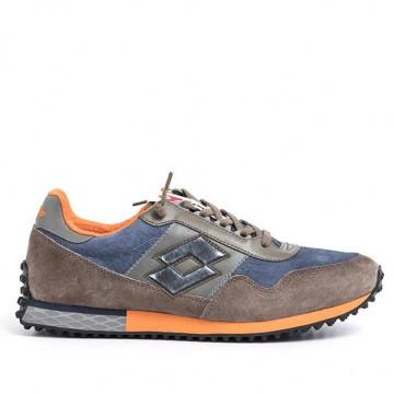 sneakers uomo lotto leggenda t0853city brown 2207