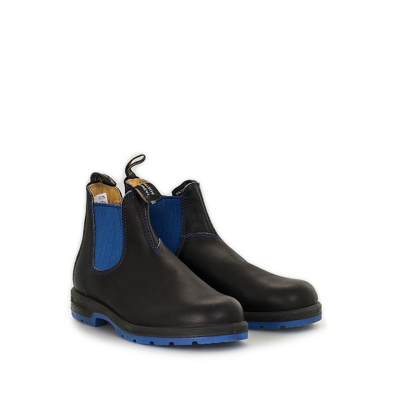 design di qualità f1f72 d2897 Blundstone 1402 EL SIDE BOOT neri e blu