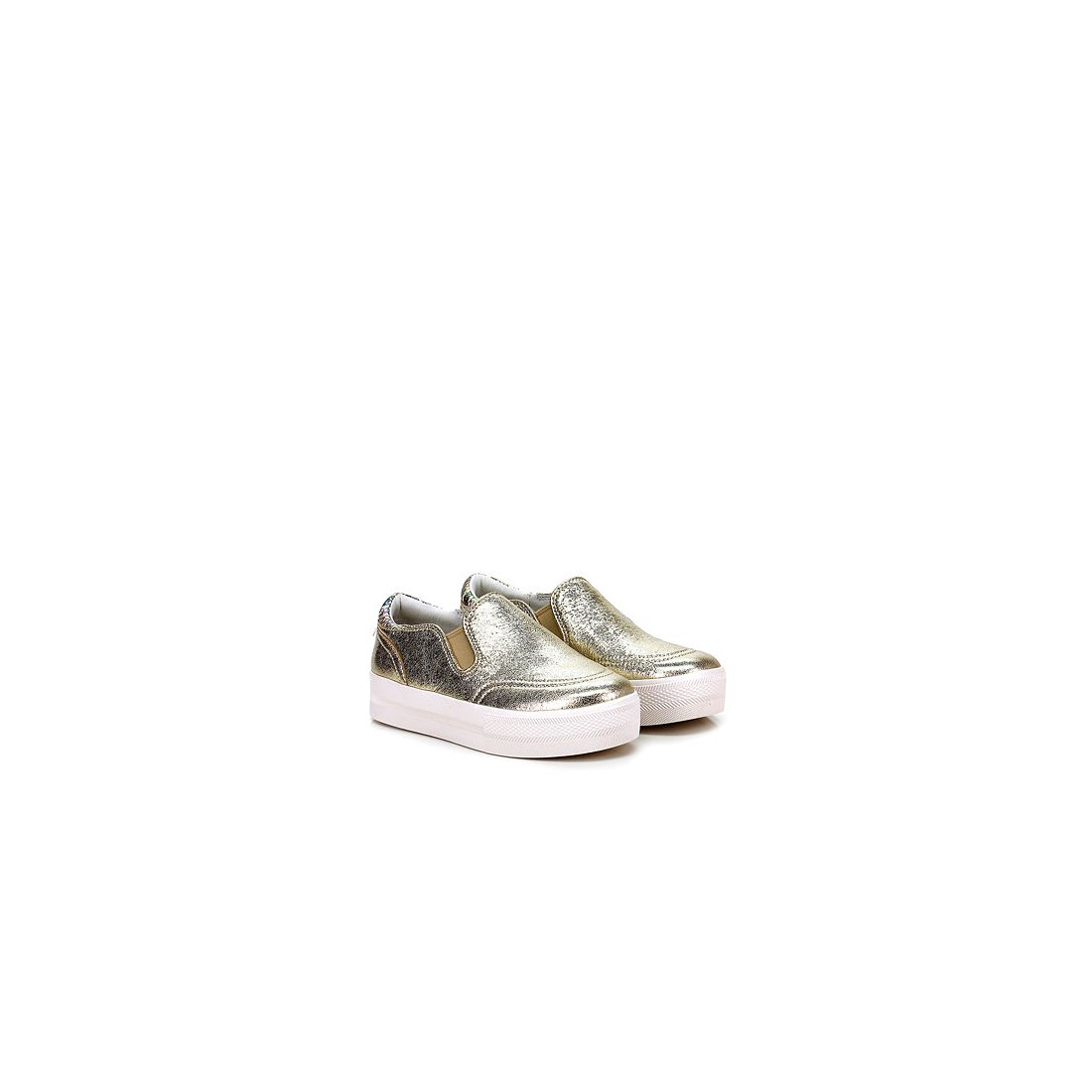 slip on donna ash sport junglemetal rock platine