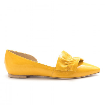 ballerine donna larianna bl 1090naplak giallo 4574