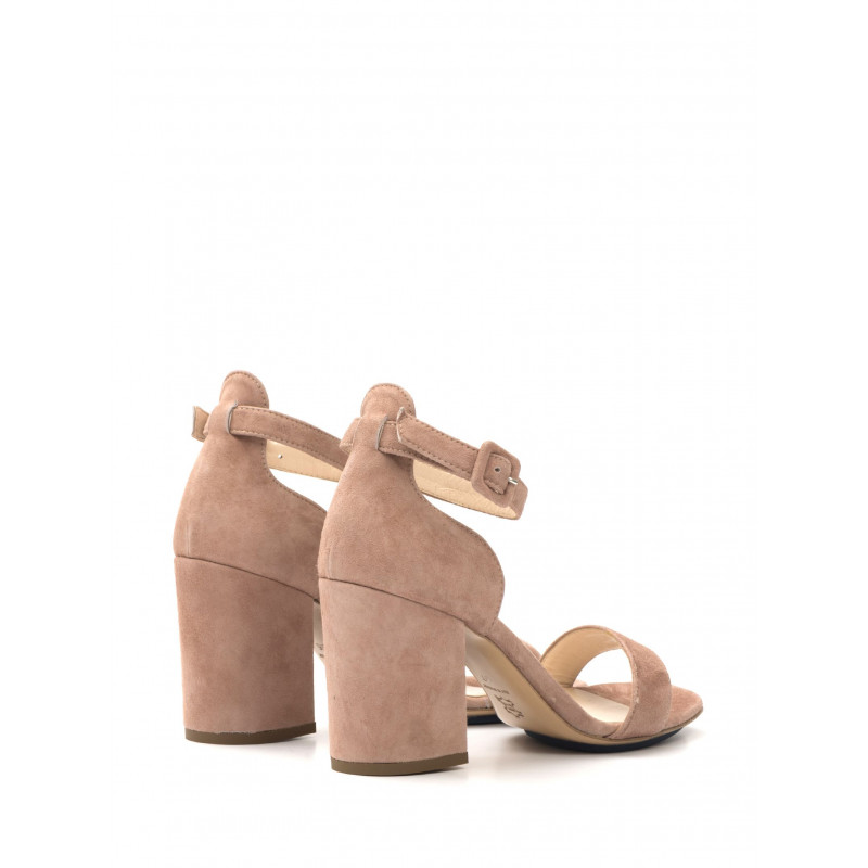 sandali donna milla gabbysuede rosa antico