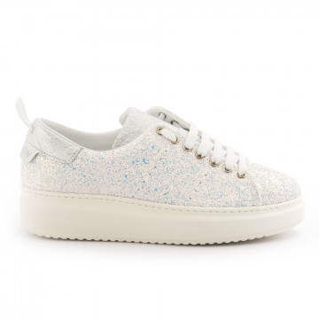 sneakers donna stokton burmaglitter bianco 4806