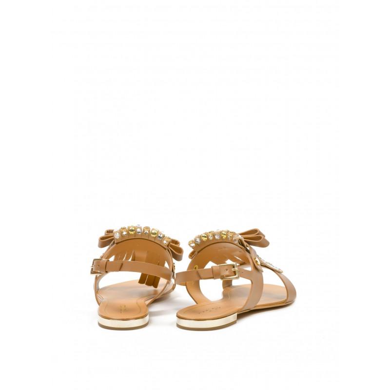 sandals woman ninalilou 261032bulgsiennatwist oro