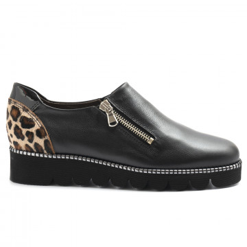 slip on donna alfredo giantin 6528pony nero 5128