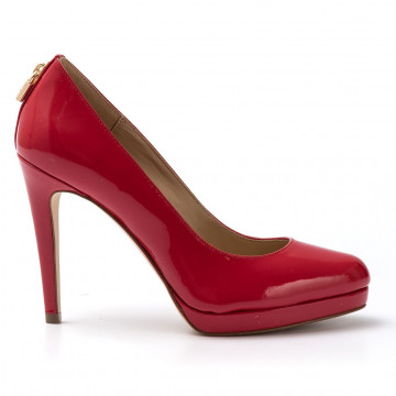 decollet donna michael kors 40r7athp1l204 antoniette pump red 1659