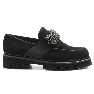 slip on donna alfredo giantin 6426cam nero 5115