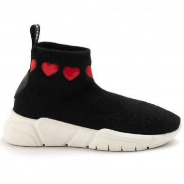 sneakers donna love moschino ja15323g18iyo 000 nero 4987