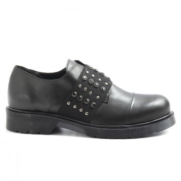slip on donna nh24 re2355vit nero 6286