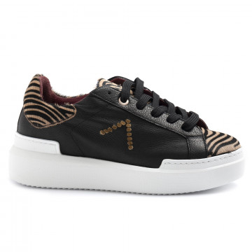 sneakers donna ed parrish ckld cv32blk camel 5040