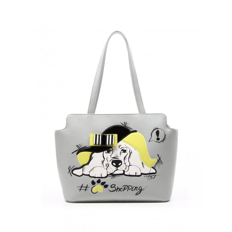 handbags woman braccialini b11363 fashion dog