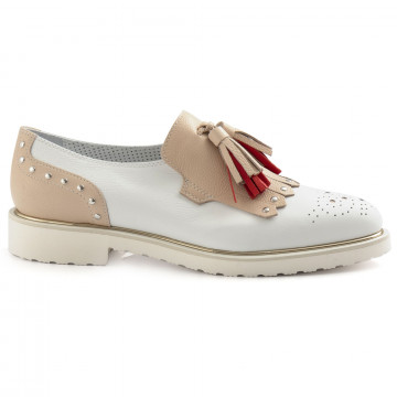 slip on donna alfredo giantin 6643pony bianco 6789
