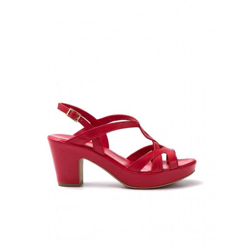 sandali donna silvia rossini 1311 elenacapri rosso