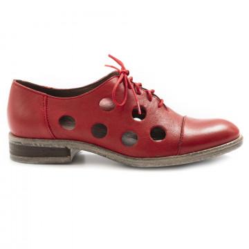 stringate donna le bohemien l103 4vit lavato rosso 6911