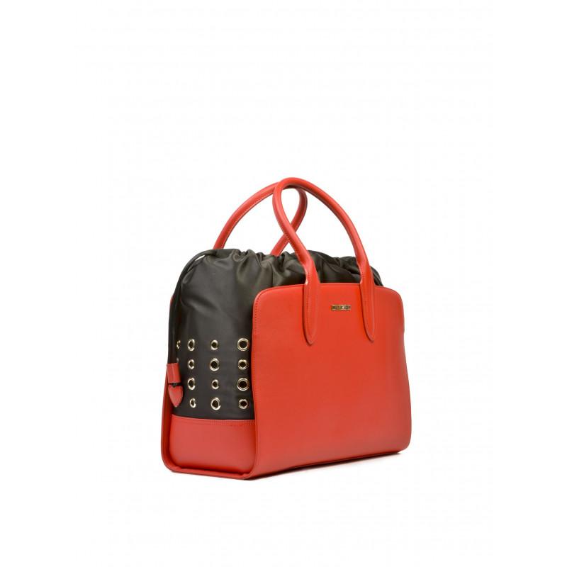 handbags woman love moschino jc 4284 rosso