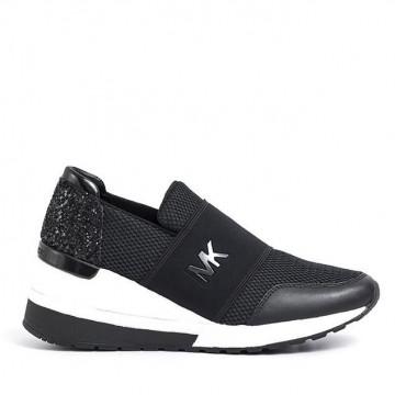 sneakers donna michael kors 43s7fxfs1dfelix trainer