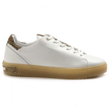 sneakers donna borbonese 516vit bianco 5001 6965