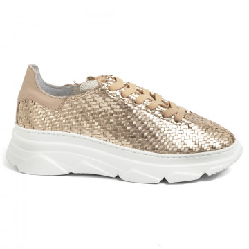 sneakers donna stokton 752dspiga rose gold 7177