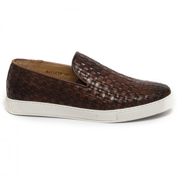 slip on uomo brecos 8672vitello brandy 7332