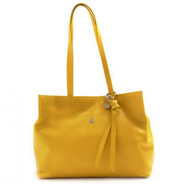 borse a spalla donna patrizia pepe 2v9154 a4u8y380 tiger yellow 7348