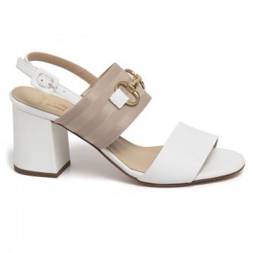 sandali donna luca grossi e903svik bianco 7365