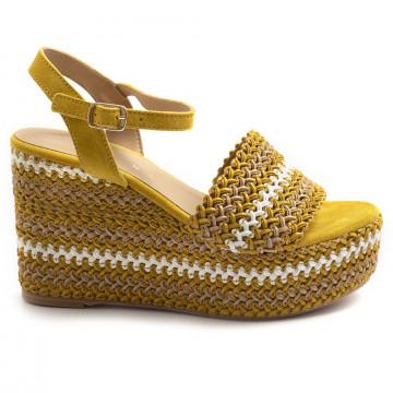 sandali donna fiorina s144481 gulty giallo 7370