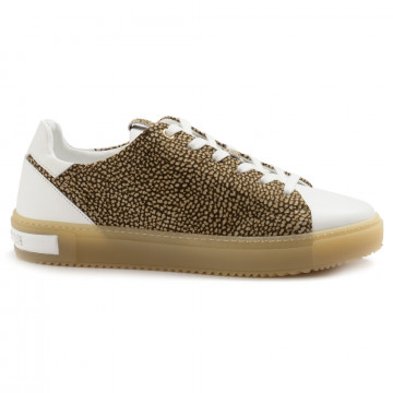 sneakers donna borbonese 516vit bianco 5002 6964