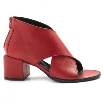 sandali donna le bohemien t5020vit lavato rosso 6909