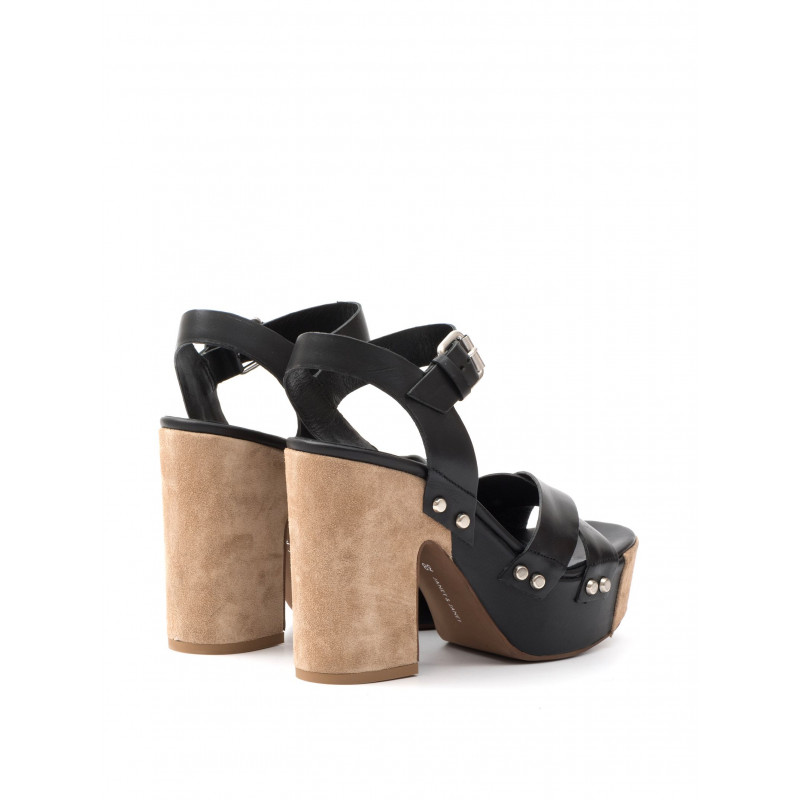 sandali donna janet  janet 39450bamako nero