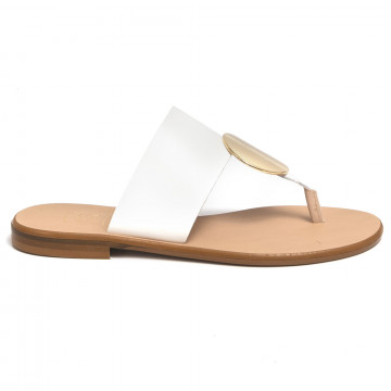 sandali donna cecile 2374vacch bianco 7340