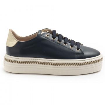sneakers donna stokton 674dvitello navy blu 7434