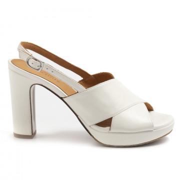 sandali donna audley 21541off white nappa 7415