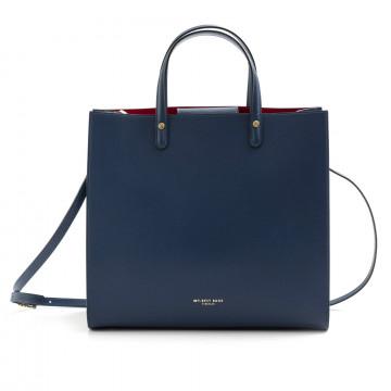 borse a mano donna my best bags myb6015blu 7572