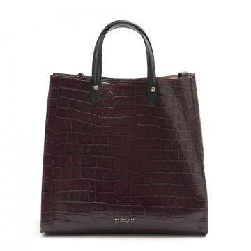 borse a mano donna my best bags myb6028bordeaux 7836