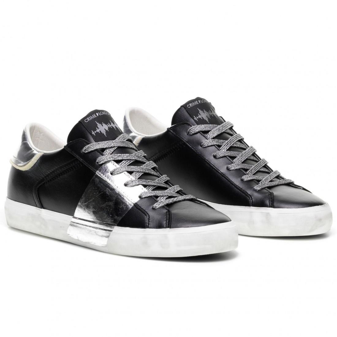 sneakers donna crime london 2500620 black 7839