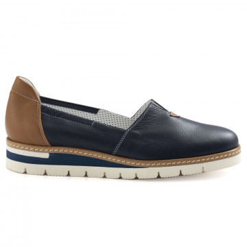 slip on donna alfredo giantin 6609pony blu 6769