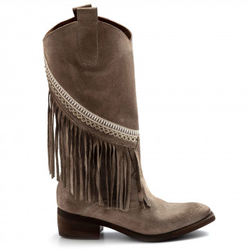 stivali donna zoe sioux03camoscio corda beige 8147