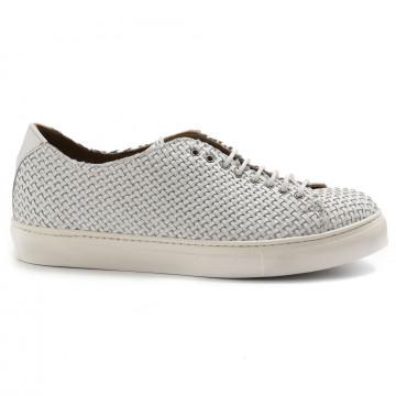 sneakers uomo sangiorgio 7008 5nappa bianco 6973