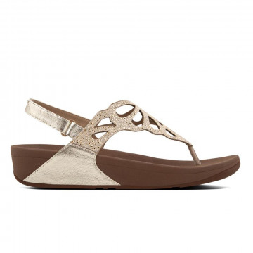 sandali donna fitflop h71010bumble gold 3318