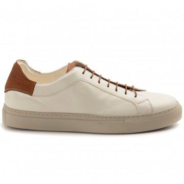 sneakers uomo sturlini 4592bianco tan 8327