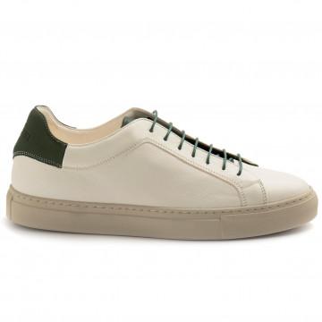 sneakers uomo sturlini 4592bianco verde 8326