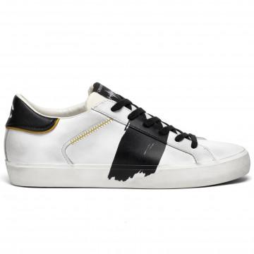 sneakers uomo crime london 1145010 bianco nero 8358